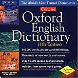 Oxford Concise English Dictionary 11th Edition