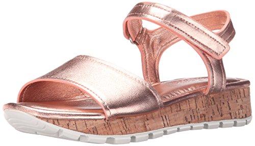 Skechers Cali Paso a Paso-dentado de punta vestido de la sandalia Rosado
