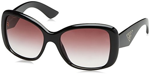 Prada Prada Women's PR32PS 1AB4V1 Black/Violet Gradient Sunglasses, - Prada Womens Black Sunglasses
