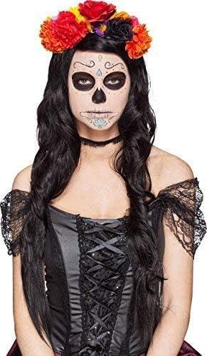 Fancy Me Vestido de Disfraz de Calavera Mexicana con Diseño de ...