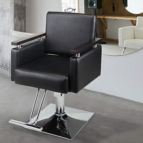 Beauty Hydraulic Reclining Barber Chair Salon Beauty Spa Chair