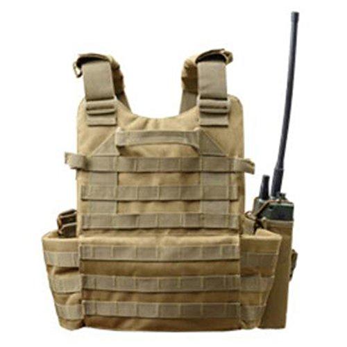 Viktion - Gilet Tactique Armée Airsoft equipement Ajustable Fournitures Police et Les Militaires, engins Tactiques pour… 3