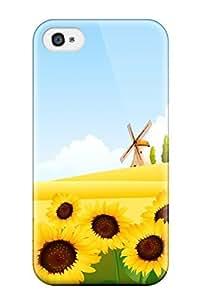 XiFu*MeiIphone 4/4s Case Bumper Tpu Skin Cover For Nature AccessoriesXiFu*Mei