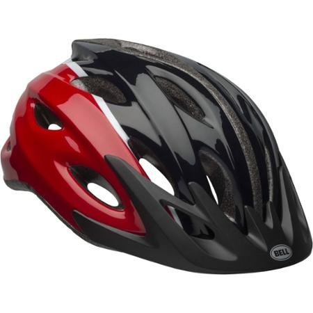 Bell Sports Great Looking, Extremely Durable, Easily Adjustable With 18 Cooling Vents And Rear Safety Lights Ringer Slate Adult Helmet, Fits Head Sizes 20.8