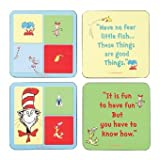 Dr Seuss Coaster Set Cork Style