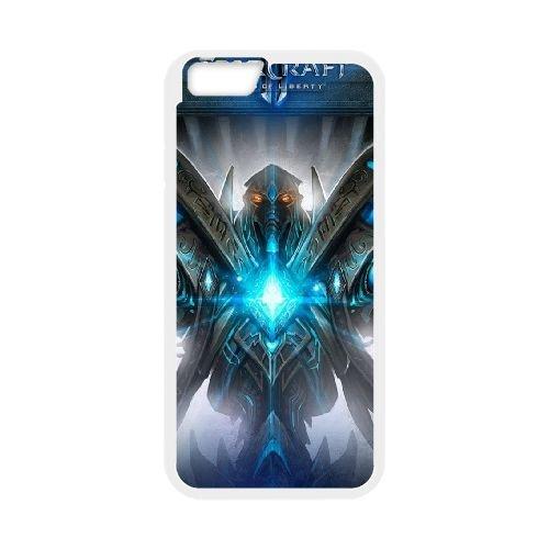 Starcraft Theme Anniversary L coque iPhone 6 Plus 5.5 Inch cellulaire cas coque de téléphone cas blanche couverture de téléphone portable EEECBCAAN01165