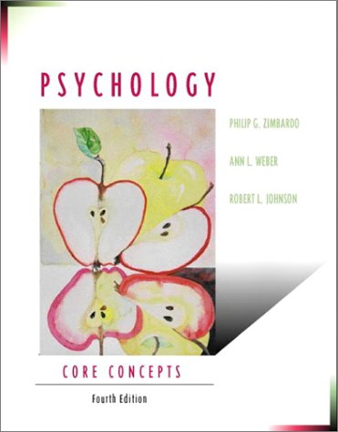 Psychology: Core Concepts (4th Edition)