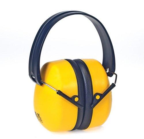 Liberty DuraPlugs High Performance Foldable Ear Muff, Yellow (Case of 6)