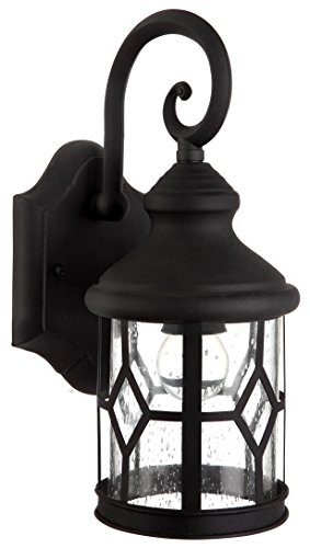 CANARM IOL208BK Atlanta Outdoor Wall Light