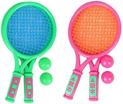 Ysoom Juego de Raquetas de Tenis, bádminton, Juguete de Tenis y ...