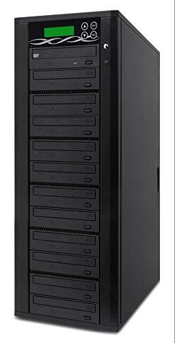 Spartan 11 Target 24x DVD/CD Duplicator Copier Powered by Athena (SP11DVD)