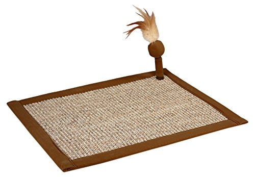 Petlinks Scratchers Welcome Catnip Enhanced Scratch Mat - 14x18 in