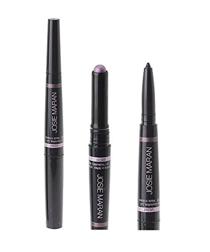Josie Maran Easy Writer Argan Cream Eye Shadow + Argan Liner (Violet/Plum)