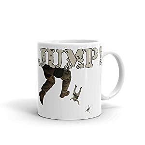 Military Jump Airborne Skydiving Coffee Cup Mug Gift Idea for Him