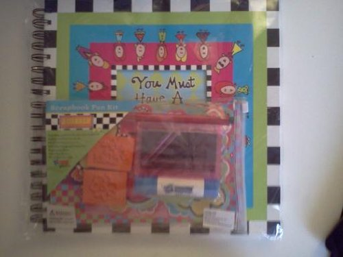 - You Must Have a Lot of Friends Scrapbook Kit for Girls.