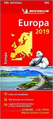 Mapa National Europa (Mapas National Michelin): Amazon.es: Libros