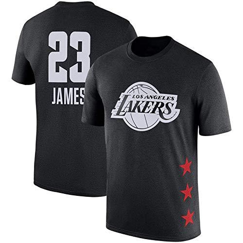 T-SHIRT Camiseta de la NBA Lakers James #23 Fashion Basketball ...