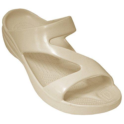 DAWGS Ladies Z Sandal,Tan,9 M US