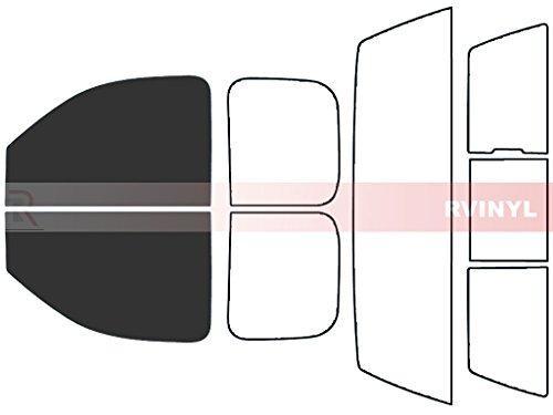 (Rtint Window Tint Kit for Chevrolet Silverado 2007-2013 (2 Door) - Front Kit - 20% )