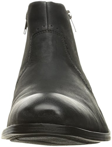 Stacy Adams Mens Remington Vanligt Tå Dragkedja Chelsea Boot Svart