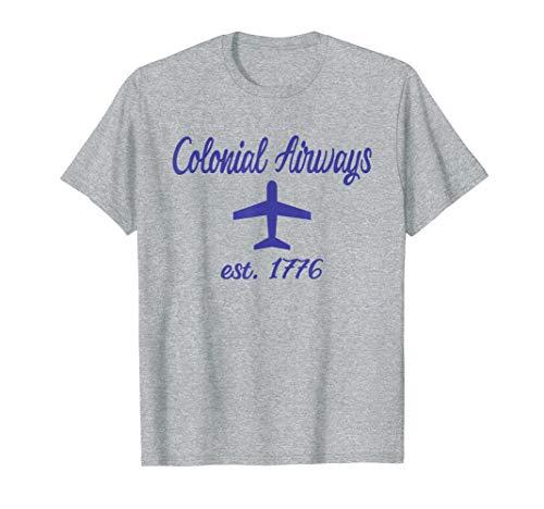 Colonial Airways Revolutionary War Airports  T-Shirt]()
