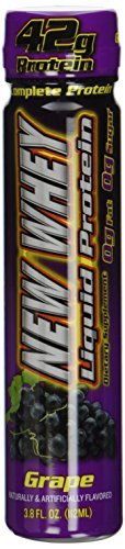 New Whey 42 Grams Liquid Protein Dietary Supplement, Variety Pack, 3.8 Ounce (12 Count) by New Whey - 42 Liquid