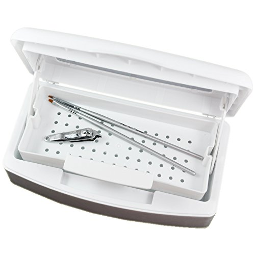 Beauties Factory Sterilizer Tray Sterilizing Cleaning Nail Art Tool Storage Case