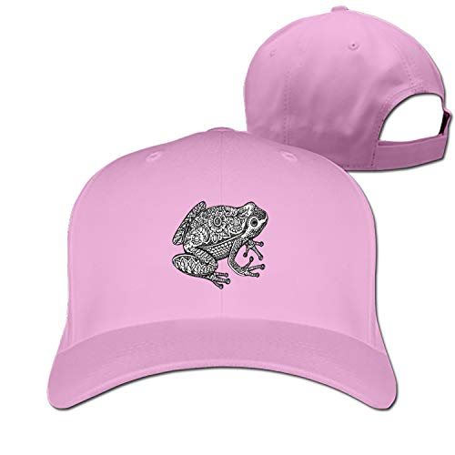 EIGTU Unisex Doodle-Frog Dad Hat Baseball Cap Adjustable Trucker Hats ()