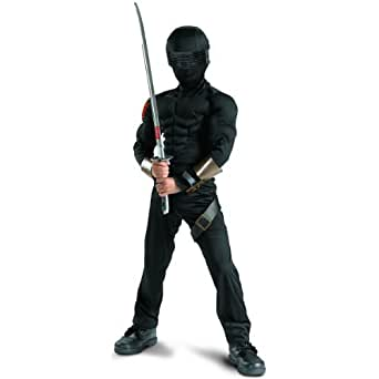 Snake Eyes Classic Muscle Costume - Medium