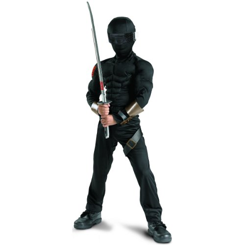 Snake Eyes Classic Muscle Child Costume - Small