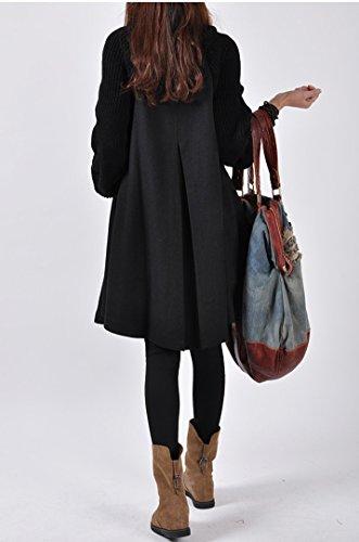 M Manteau Long Manteaux Femme Extra d'hiver Veste w7Zx1