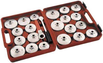 Bikemaster Deluxe Aluminum Oil Filter Wrench Set