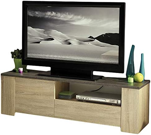 Colour mueble bajo para televisor x 138 cm de madera de roble de ...