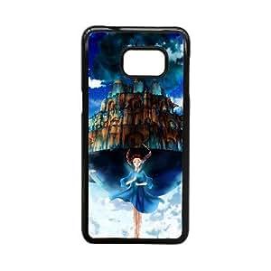 Custom for Samsung Galaxy S5 Edge Cell Phone Case Black Laputa ThemeLS3929