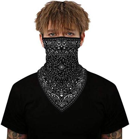 protecci/ón facial WOZNLOYE Face Shield pa/ñuelo para la cabeza pa/ñuelo triangular unisex Pa/ñuelo multifunci/ón para motocicleta
