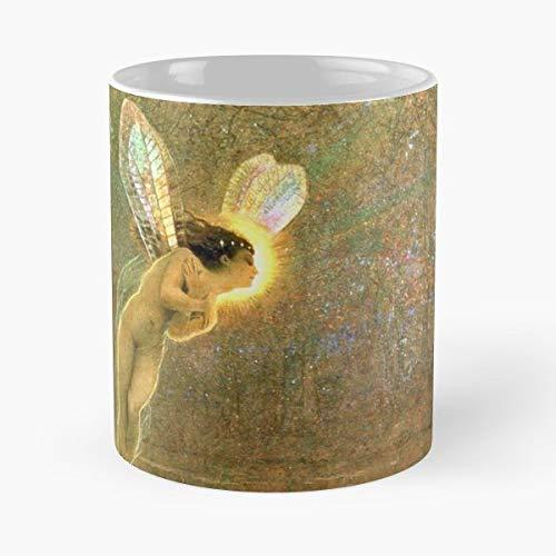 Iris Rainbow Goddess John Atkinson Grimshaw Coffee Mugs Best Gift 11 Oz