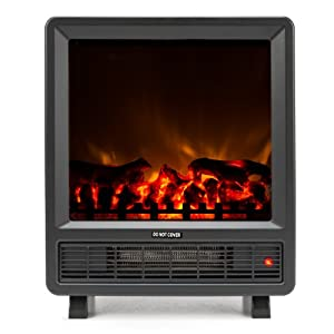 Amazon.com: Mini Free Standing Electric Fireplace Stove - 18 Inch ...
