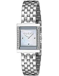 Frame Timeless Stainless Steel B26 Square Shape Dress Women's Watch(Model:YA128405)