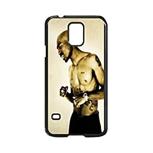 2Pac Custom Image Case, Diy Durable Hard Case Cover for Samsung Galaxy S5 I9600, High Quality Plastic Case By Argelis-Sky, Black Case New