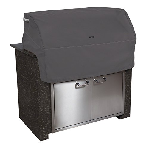 (Classic Accessories Ravenna Cover For Built-In Grills, Medium, Taupe)