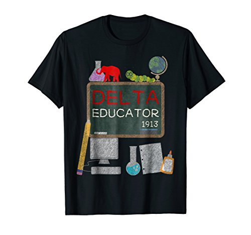 (Delta Educator Shirt Gift for Teachers Professors and Aides)