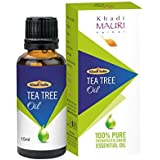 Khadi Mauri Herbal Tea Tree Essential Oil - Healthy Skin-Acne & Haircare - 15 ml