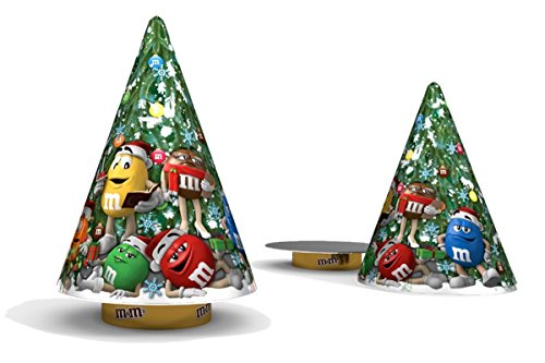 M&M's Musical Christmas Tree Collectible Tin with Chocolate Candies Gift Set, 2.37 oz (Music Gift Basket Ideas)