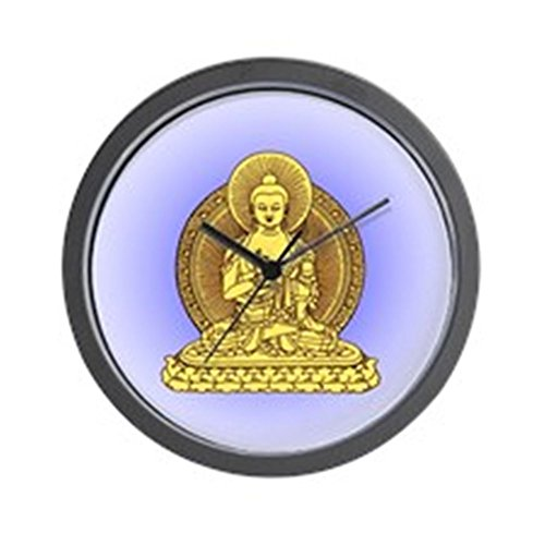- YELLOW BUDDHA Wall Clock - Unique Decorative wall clocks