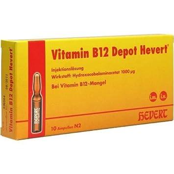 Vitamin B12 Depot Hevert 10 St Ampullen Amazonde Drogerie