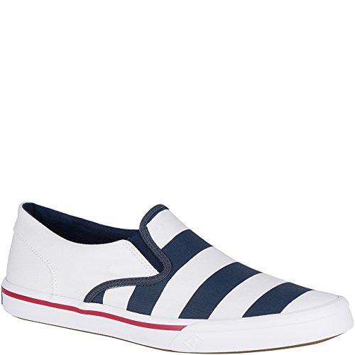 Sperry Top-sider Heren Striper Ii Twin Gore Sneaker Navy / White Stripe