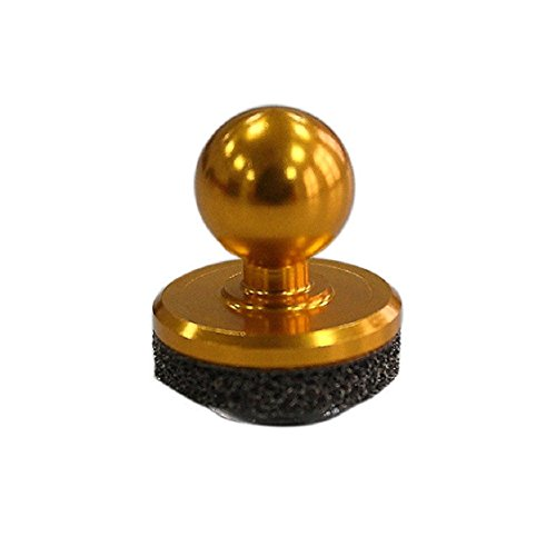 Price comparison product image Sunfei Game Stick Controller Joystick Joypad for iPhone for Ipad Touch Screen Mobile phone (Gold)