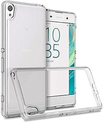 designer fashion 12002 0cd31 Amazon.com: Sony Xperia XA Case, CoverON [ClearGuard Series] Hard ...