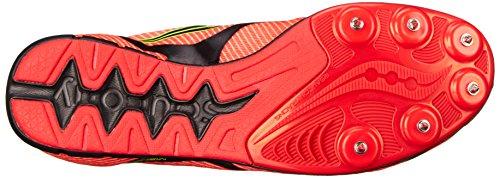 Saucony Herren Vendetta Track Spike Racing Schuh Weiß Rot