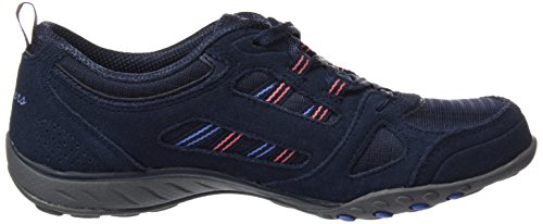 Azul Easy Luck Nvy Skechers Mujer Good para Breathe Zapatillas qB0FtxFTn